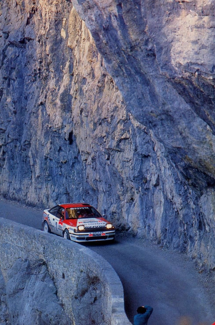 Celica on the rocks
