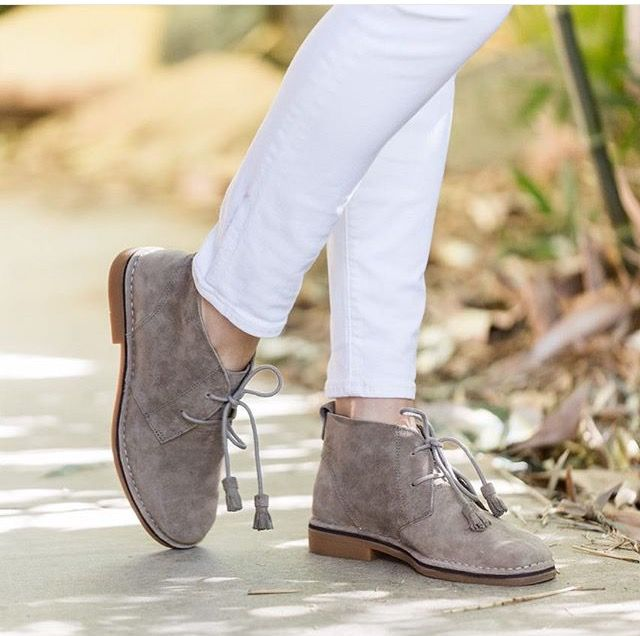 Tassel game strong with our most comfortable booties! #cyracatelyn @sarah_arseno
