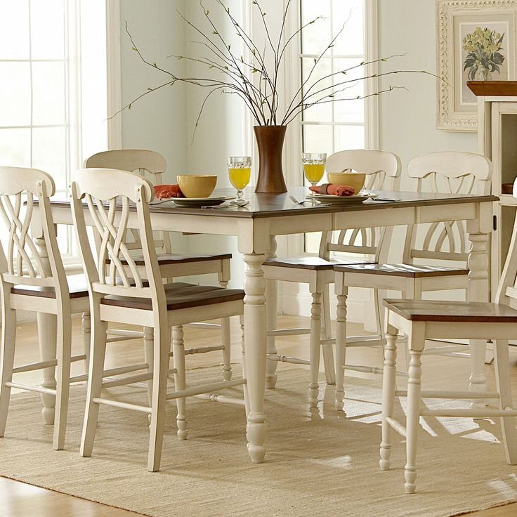 Counter Height White Kitchen Table : ... Kitchen Counter height tables on Pinterest Tables, Bar tables and
