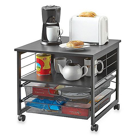 Appliance Cart   Bed Bath U0026 Beyond / This Would Be Neat In A Dorm Room