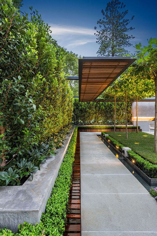 17 best ideas about modern gardens on pinterest modern for Contemporary gardens
