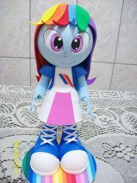 Fofucha Equestria Girls Rainbow Dash