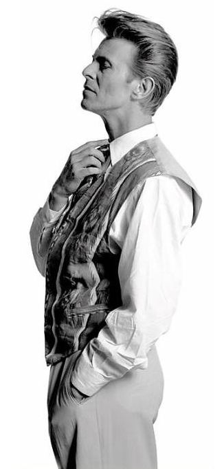 David Bowie. ☚ #celebrities