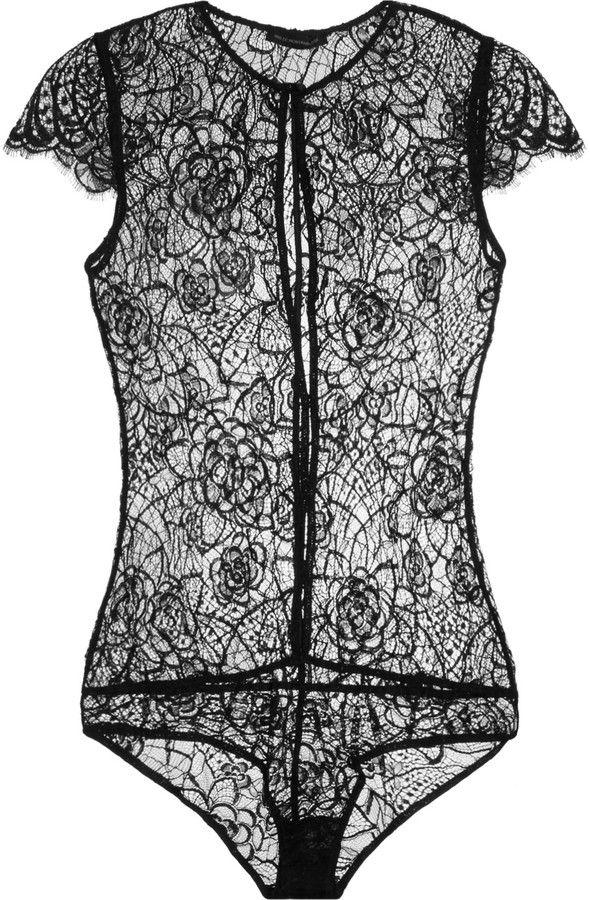 Kiki de Montparnasse Coquette lace bodysuit