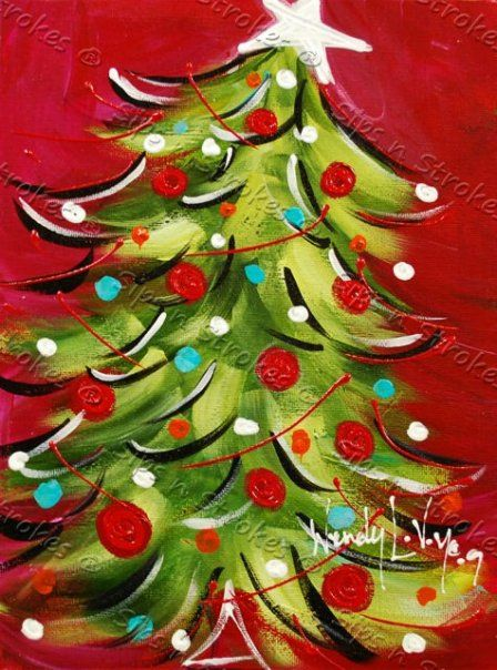 The 25+ best Christmas canvas paintings ideas on Pinterest ...