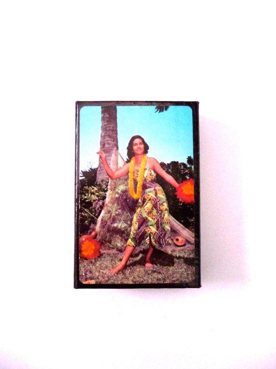 Retro 1970s Souvenir of Hawaii Playing Cards