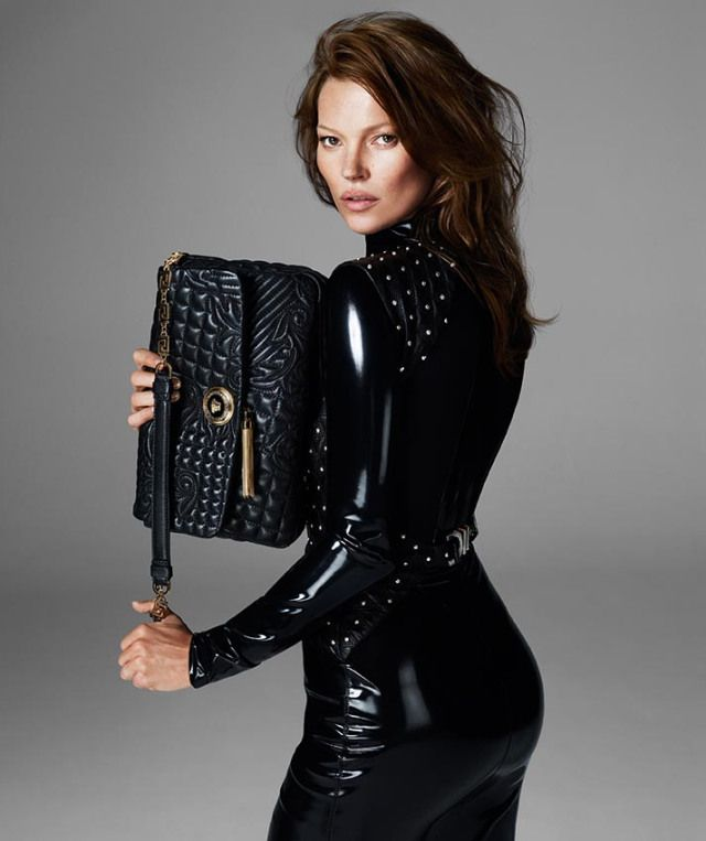 More Versace Fall 2013 Ads Starring Kate Moss and Saskia de Brauw | Fashion Gone Rogue: The Latest in Editorials and Campaigns