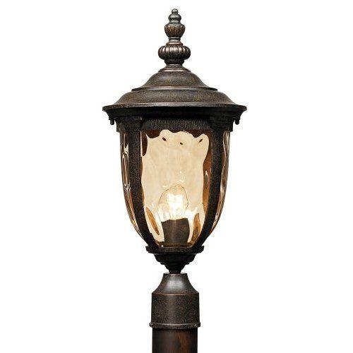 ultra bright 4 leds solar fence gate lamp post light amazon com rh pinterest com