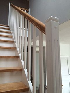 Nasze realizacje: Schody drewniane, schody na beton, balustrady i poręcze. Ponad 30 realizacji!