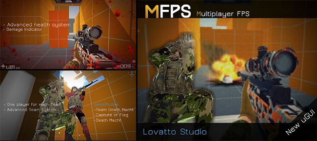 MFPS Multiplayer FPS Unity Asset Store Unreal Engine Unity Games
