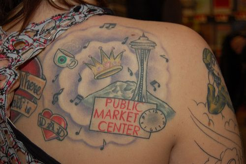 Seattle Tattoo by earthdog, via Flickr