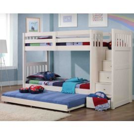 Exceptionnel Buy Neutron Bunk Bed With Stair Storage   White From Our Bunk Beds Range    Tesco