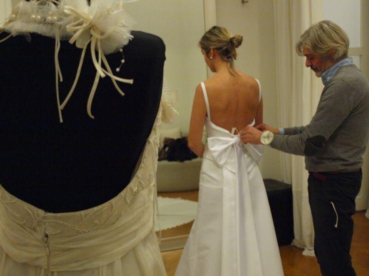 Konstantinos Tsigaros : Hand made bridal dresses.