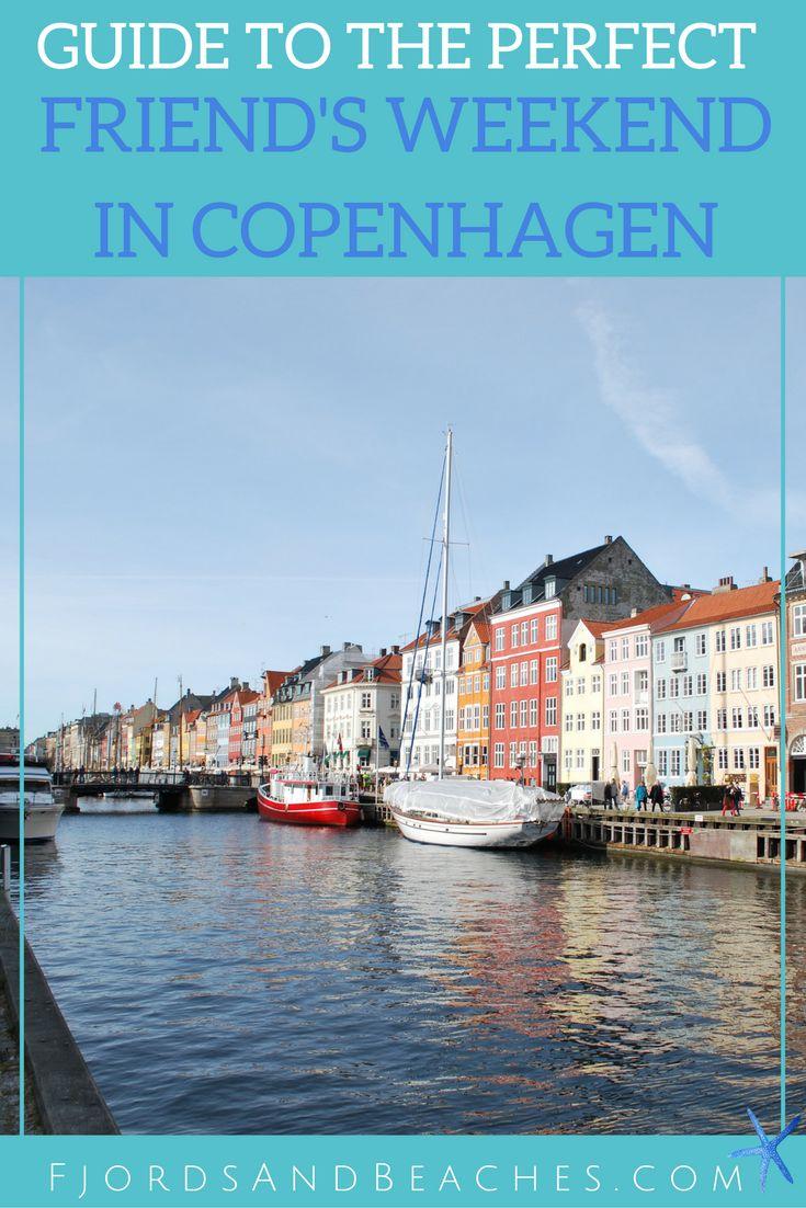 Visiting Copenhagen with friends. Spending a weekend with friends in Copenhagen. Guide to a friend's weekend in Copenhagen.