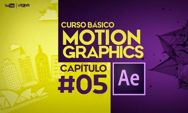 05 Curso Básico Motion Graphics con After Effects CC: Como hacer intro m...