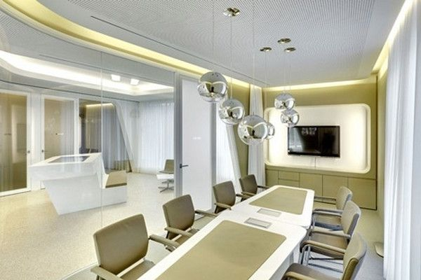 Bank 39 s contemporary conference room modern bank interior for Interior decoration zurich