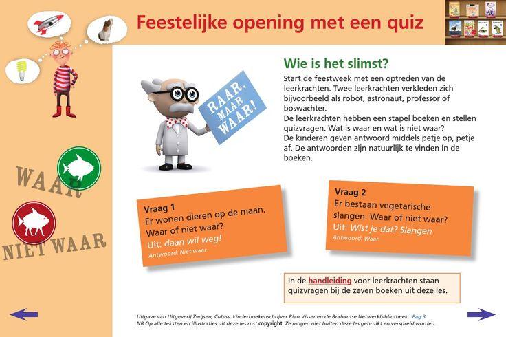 ISSUU - Kinderboekenweek 2015 digibordles middenbouw by Uitgeverij Zwijsen