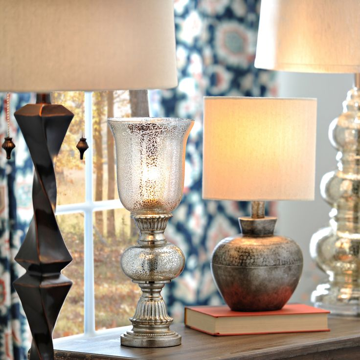 Ditch the boring, traditional lamps and add stylish, intriguing lamps to your home! Floor lamps, table lamps and uplights - all can be fun and interesting!