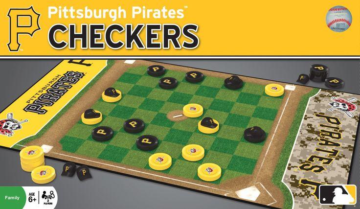 MLB Checkers Game - Pittsburgh Pirates