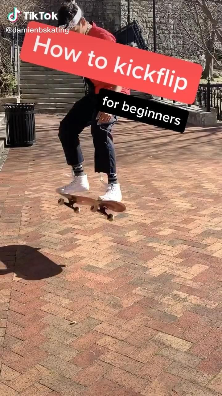 How to kick flip video in 2020 skateboard girl