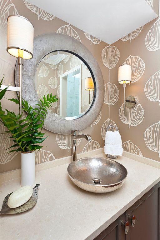 Best Ideas Bathroom Vessel Sinks Images On Pinterest - Hammered silver bathroom sink for bathroom decor ideas
