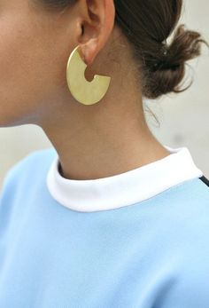 Love this look | Fashion Inspiration - Earring 400