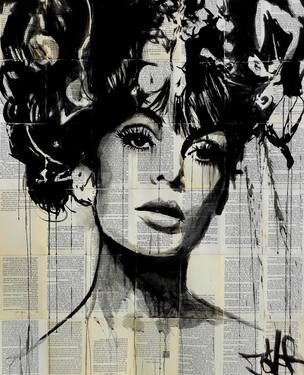 "Saatchi Art Artist Loui Jover; Drawing, ""vogue"" #art"