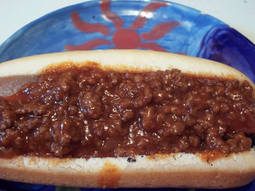 If you are used to the all-meat Texas style chili or the TexMex chili with beans, then this chili is an acquired taste. I am still acquiring the taste for this; but here in NC when they say chili w…