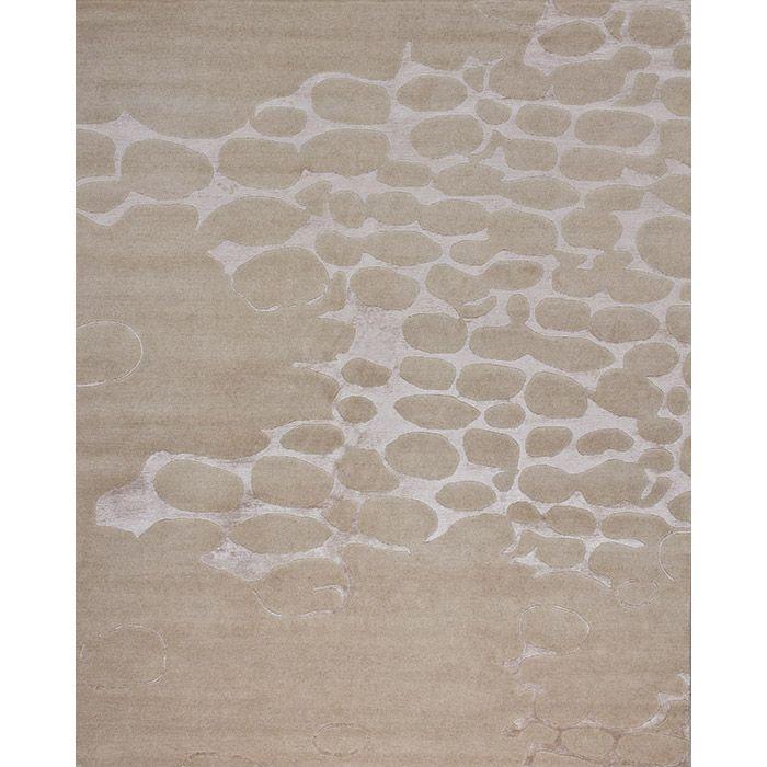 Бежевый ковер Камни на песке Cobble Sand