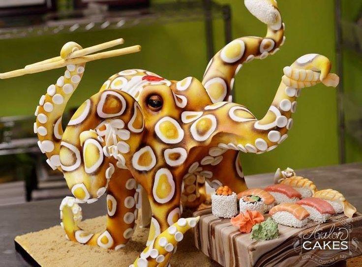 Cake Art Academy Kennesaw : 25+ beste idee?n over Dieren taarten op Pinterest ...