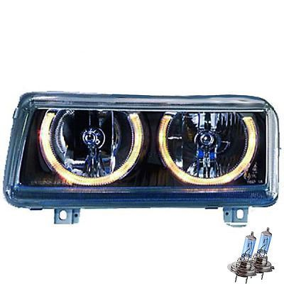 Scheinwerfer set vw #passat b4 3a #10.93–03.98 angel eyes #klarglas/schwarz 110,  View more on the LINK: 	http://www.zeppy.io/product/gb/2/400759274236/