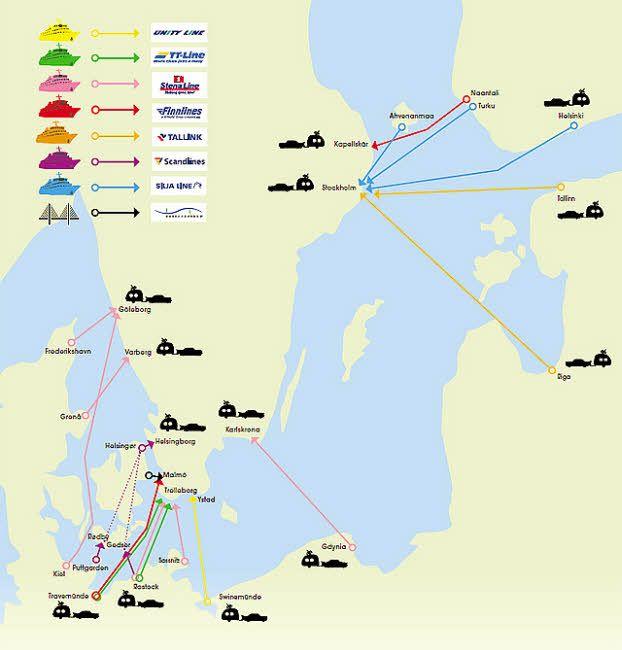 Tipps zur Anreise mit dem Auto nach Schweden