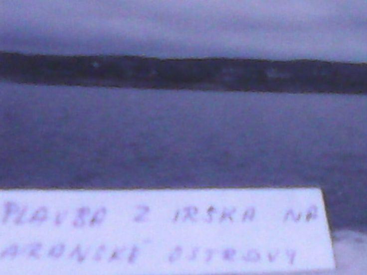 plavba z Irska na Aranske ostrovy