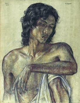 Portrait of a Young Man - Rudolf Bonnet