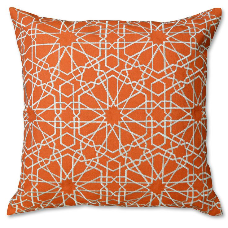 Tile Embroidery Cushion