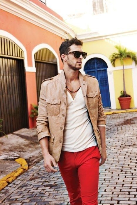 Got to find the right pair of red pants, and the right clothes to fit with it. Join PINIFIC to achieve your goal via Pinterest. visit..... www.pinific.com