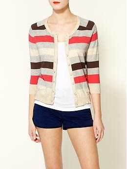 cardie: Outfits Shorts, Stripes Cardigans Repin, Cardigans And Shorts, Stripes Sweaters, Cute Cardigans, Closett Dreams, Darling Cardigans, The Cardigans, Cardigans Repin By Pinterest