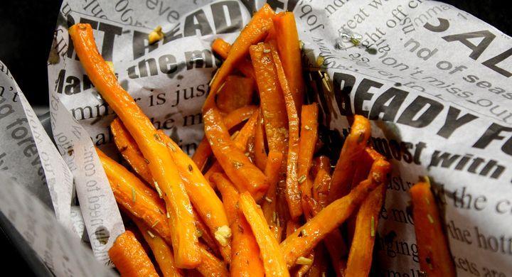 Terveellisemmät ranskalaiset porkkanasta - Jannen Keittiössä