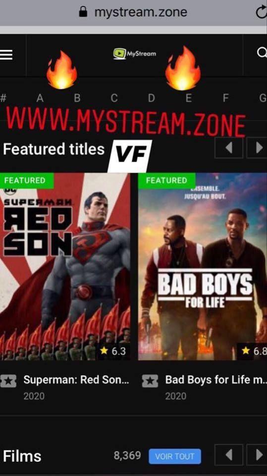 Regarder Films En Streaming Hd Gratuit Sans Illimite Vf Et Vostfr Mystream Zone Film Streaming Film Streaming Gratuit Film