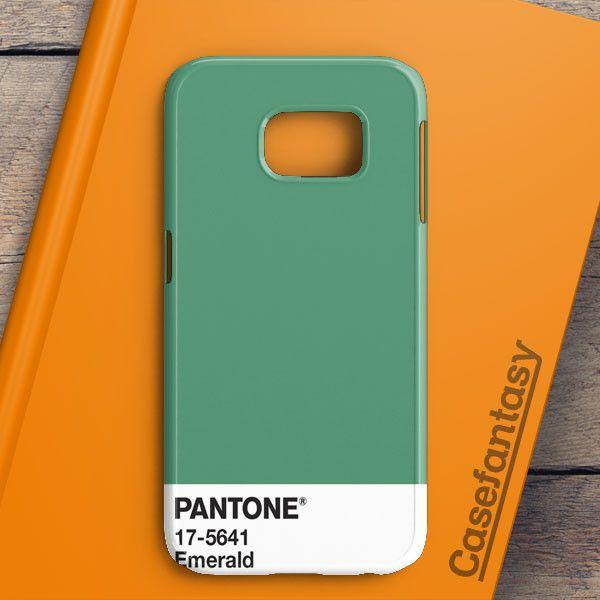 Pantone Emerald Samsung Galaxy S7 Edge Case | casefantasy
