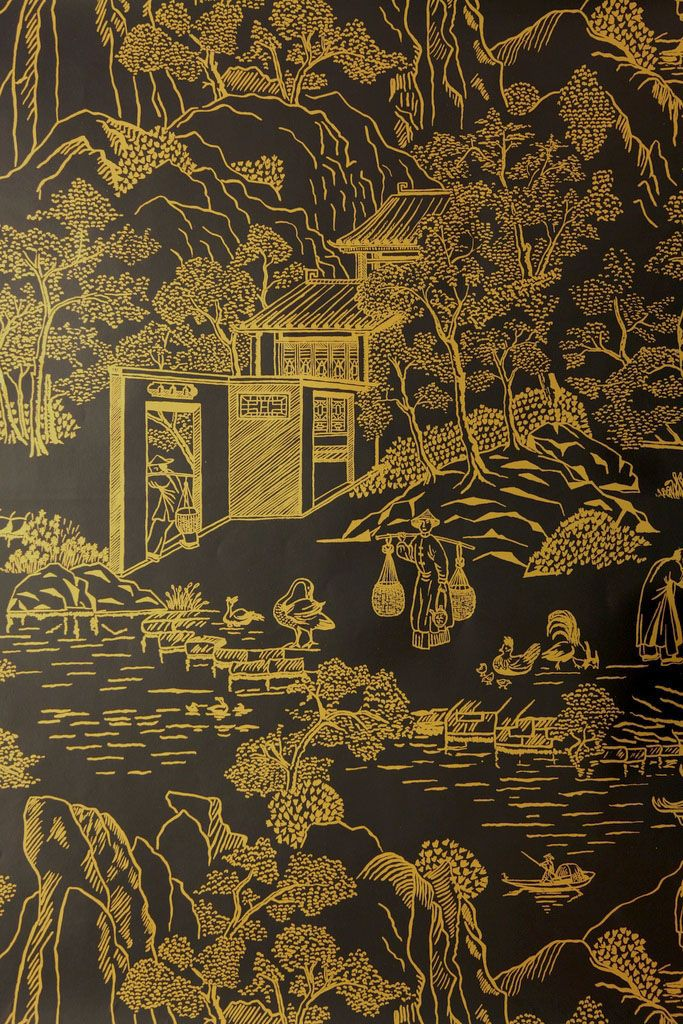 52 best images about chinoiserie wallpaper and fabric on for Chinoiserie design