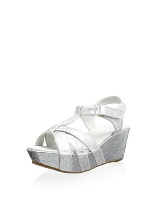 60% OFF Antelope Women's Wedge Sandal (Silver)
