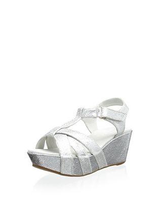 60% OFF Antelope Women's Wedge Sandal (Silver)