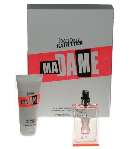 Madame by Jean Paul Gaultier for Women - 2 Piece Set by Jean Paul Gaultier. $38.00. Buy Jean Paul Gaultier Gift Sets - A floral fragrance fresh and soft. A concentration of smiles and pleasure.Details provided by Jean-Paul Gaultier