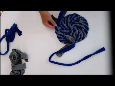 How to Make a Rag Rug 2