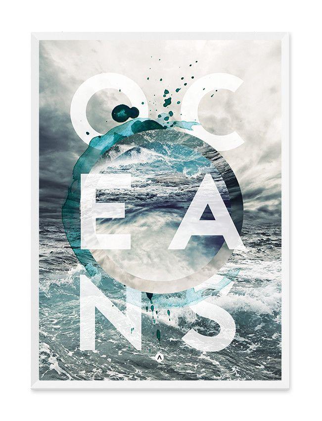 Oceans Print - Wall Art