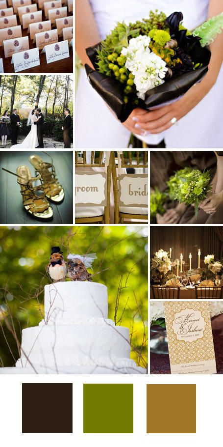 Wedding Colors: 25 Wedding Color Combos You've Never Seen