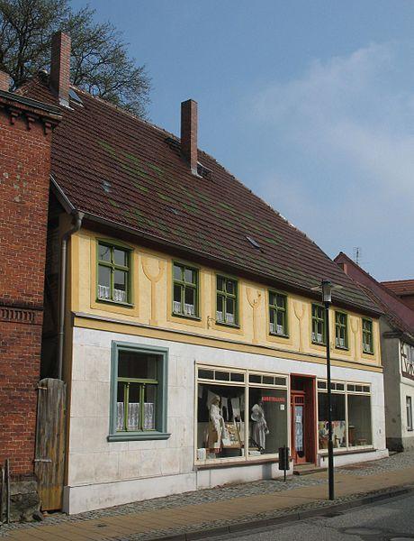Wohnhaus Ernst-Thälmann-Straße 8 in Putlitz in Brandenburg, Deutschland