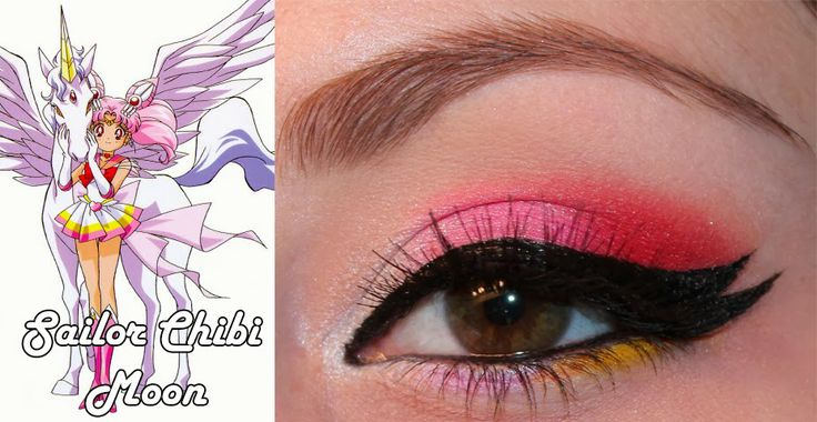 Sailor Chibi Moon Inspired Makeup Look : Luhivy's favorite things