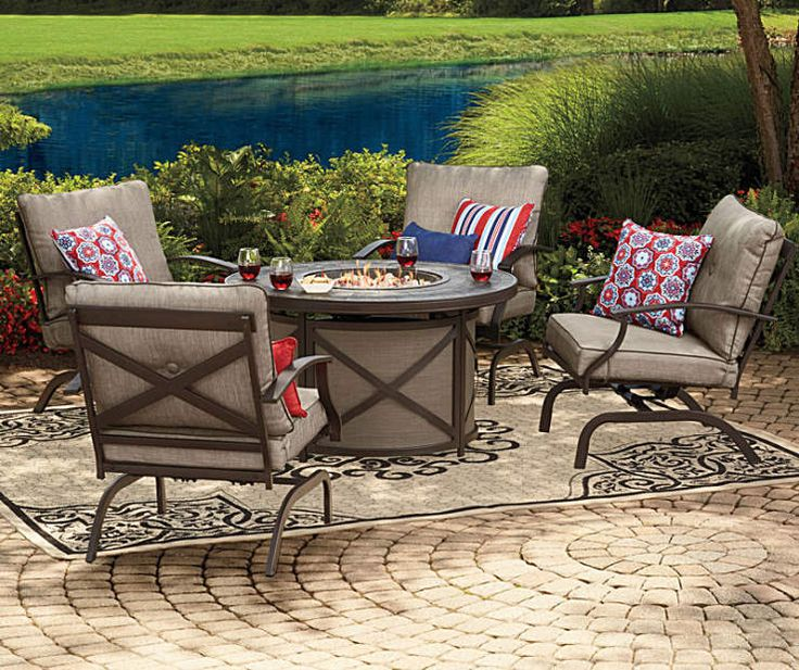 I found a Wilson & Fisher Mesa Patio Furniture Collection  at Big Lots for less. Find more Seating Sets at biglots.com!